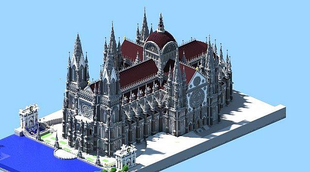 皇城大教堂 - minecraft中文分享站