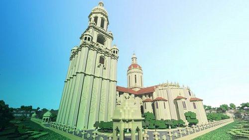 圣地亚哥大教堂 - minecraft中文分享站