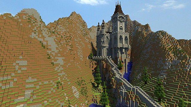 欧式风格 minecraft-德拉古城堡