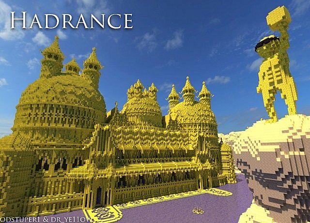 minecraft我的世界-hadrance黄金宫殿