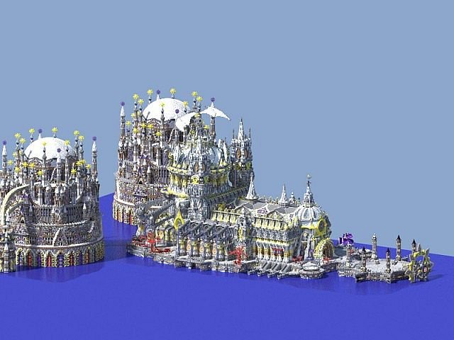 minecraft我的世界-奥克斯水上宫殿