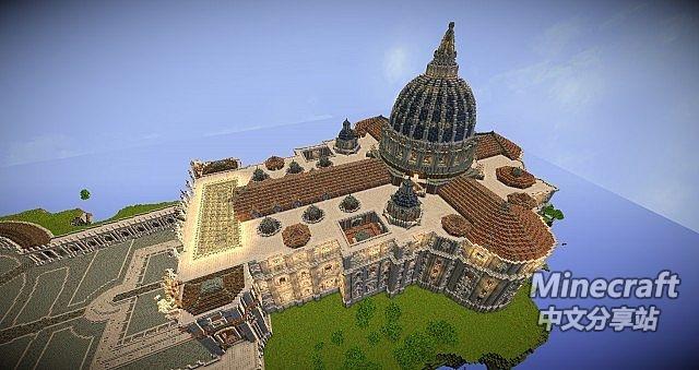 minecraft我的世界-圣彼得大教堂