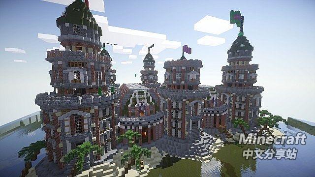 minecraft我的世界 皮贡城堡