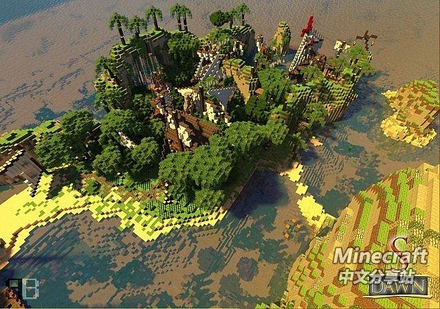 minecraft我的世界-黎明海盗岛 - minecraft中文分享站