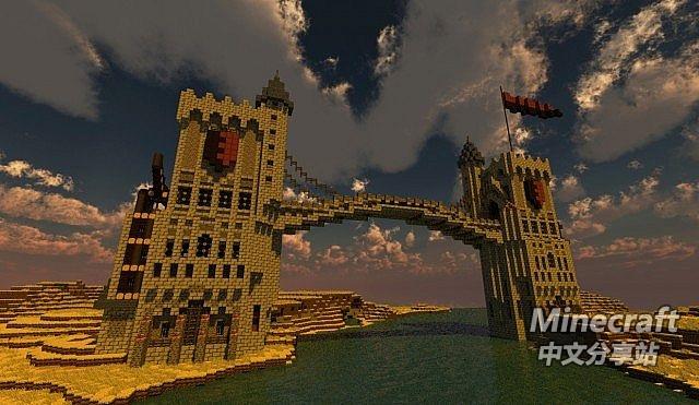 minecraft我的世界-双子大桥