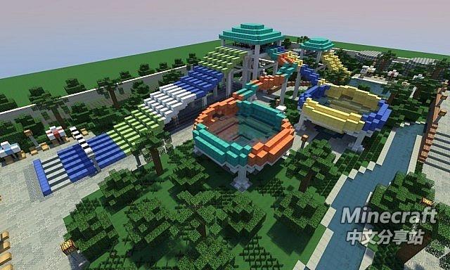 我的世界宫殿设计图 图片