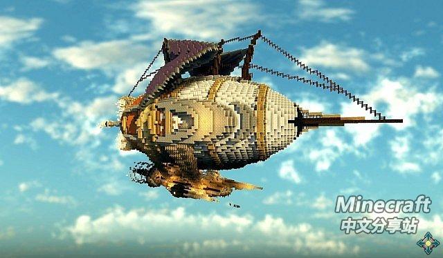 djpaulii 造型奇特的飞艇,又见我朋克风