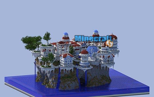 minecraft我的世界地图 solismagna索利斯麦格纳城