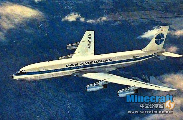 我的世界地图泛美航空公司波音707下载
