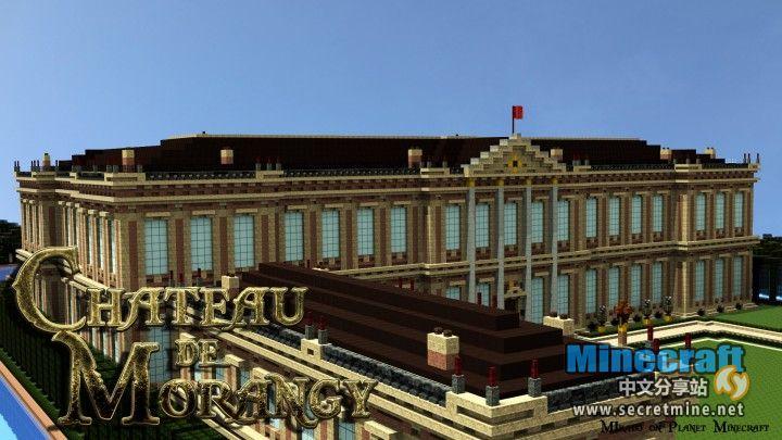 我的世界法国巴洛克风格子爵城堡存档