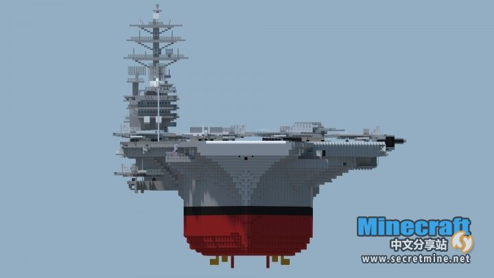我的世界尼米兹号航空母舰存档