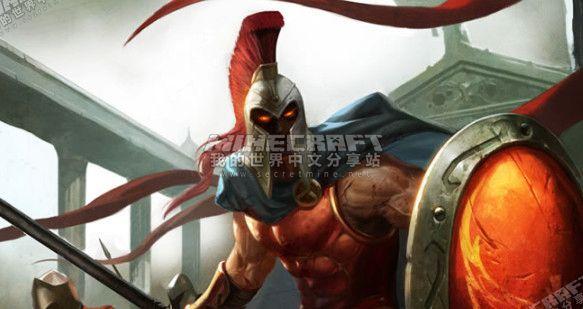 我的世界英雄联盟pantheon战争之王潘森皮肤 - 中文