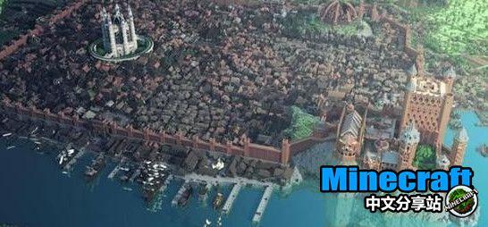 我的世界玩家制作君临城