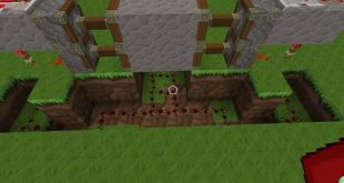 我的世界红石门怎么做