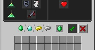 对信标按下使用键时显示的GUI。
